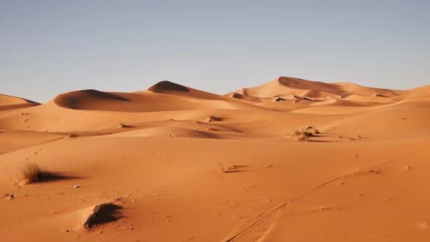 Sahara Desert.