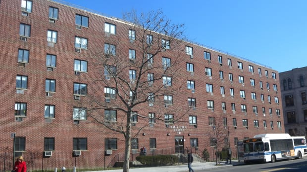 Section 8 housing in the South Bronx.