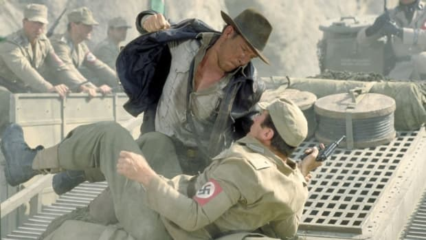 Indiana Jones Nazi punch