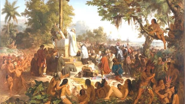 The First Mass in Brazil, by Victor Meirelles, oil on canvas, 1860.