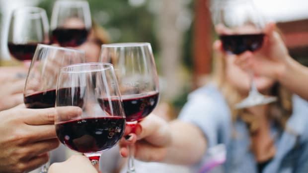 wine toast drinking alcohol
