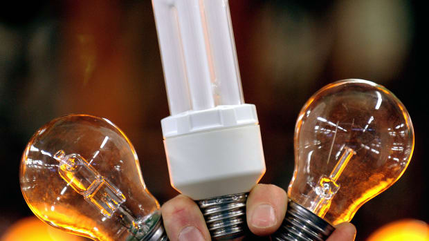 Energy-saving lightbulbs
