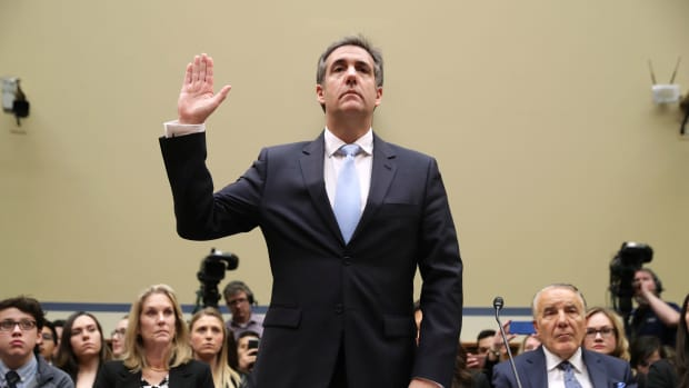 Michael Cohen, former attorney for President Donald Trump, testifies before the House Committee on Oversight and Reform on Capitol Hill on February 27th, 2019, in Washington, D.C.