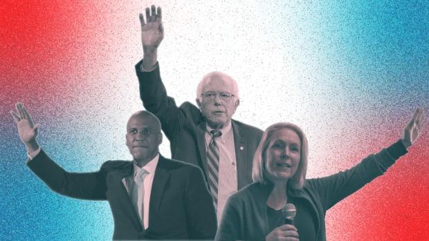 Cory Booker, Bernie Sanders, Kirsten Gillibrand