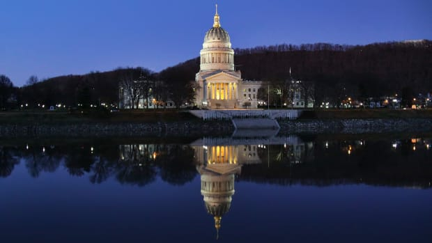 West Virginia State Capitol.