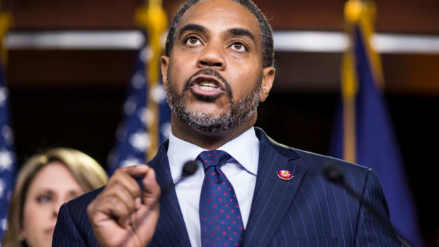 Representative Steven Horsford (D-Nevada) speaks during a news conference on April 9th, 2019, in Washington, D.C. House Democrats unveiled new letters to the attorney general, the secretary of the Department of Health and Human Services, and the White House demanding documents related to the Texas v. United States lawsuit, which challenges the constitutionality of the Affordable Care Act.