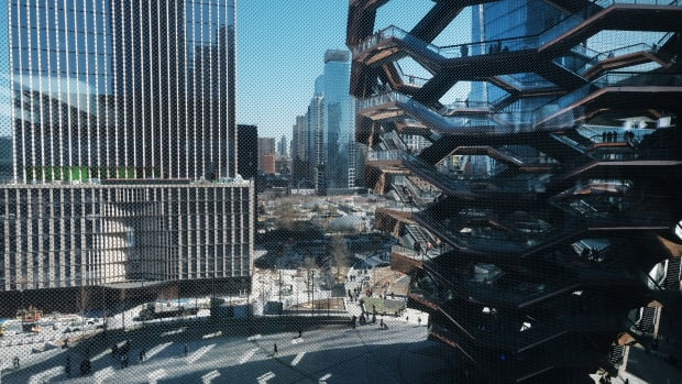 The Shed cultural space at Hudson Yards in New York.