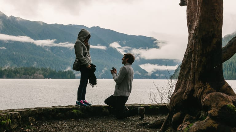 The Strange Trend of Professional Marriage Proposal Photography