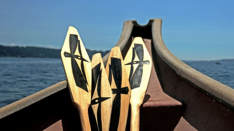 In the Salish Sea, Native American Communities Bond Over a Rigorous Canoe Voyage