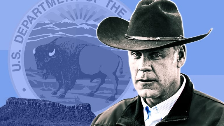 Inside Ryan Zinke's Department of Industry Influence