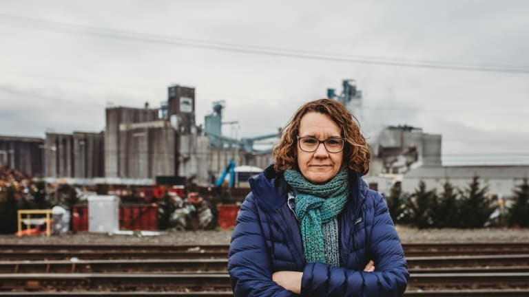 Meet the Woman Who Fought to Keep an Oil Terminal Out of Her Town