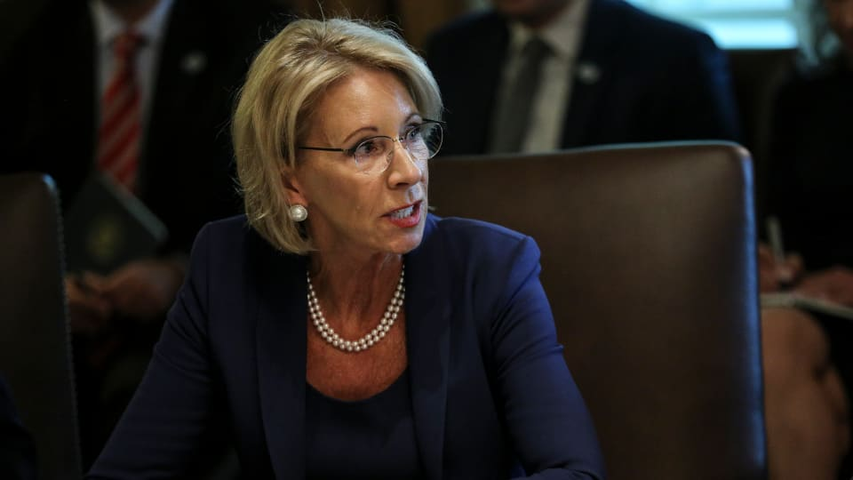 Betsy DeVos Wants to Overhaul Title IX Procedures. What Will That Mean for Campus Assault Survivors?