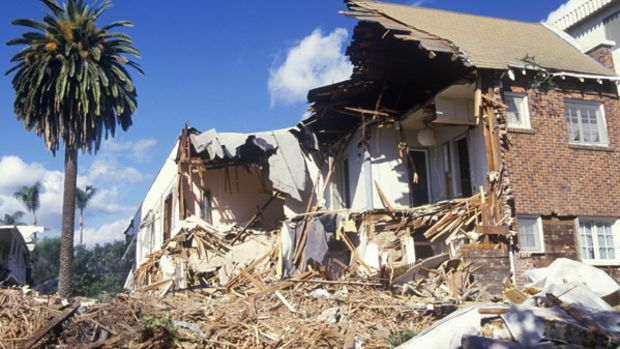 Northridge earthquake, Santa Monica, 1994