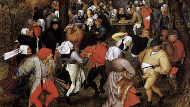Pieter_Brueghel_the_Younger_-_Peasant_Wedding_Dance_(Brussel)_-_WGA03635