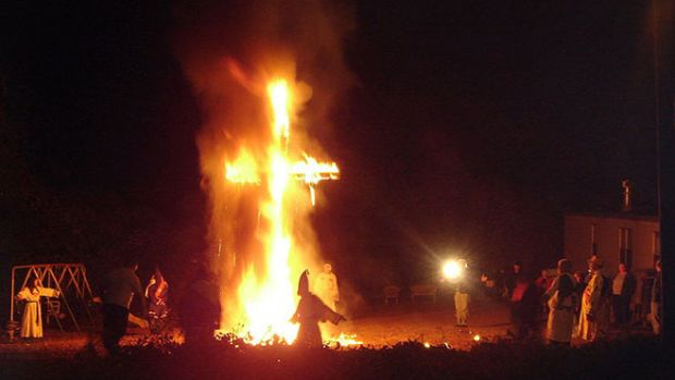 cross-burning