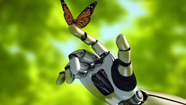 robot-hand-butterfly