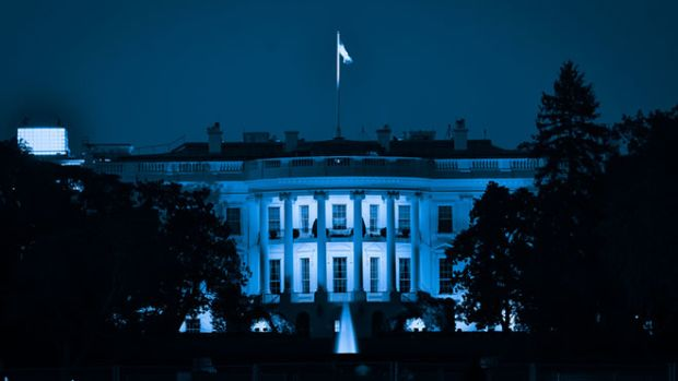 white-house-night
