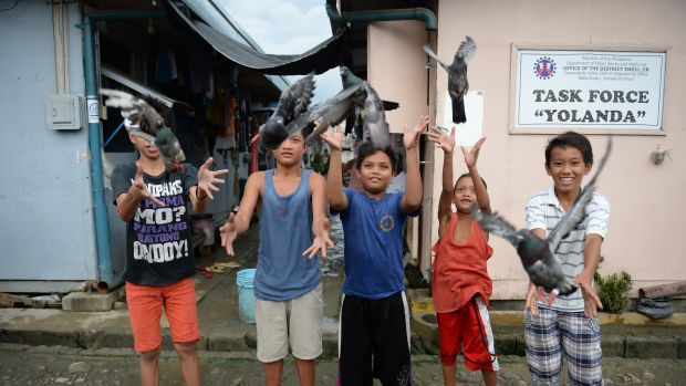 philippines typhoon haiyan climate