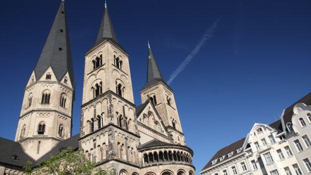 Munster Basilica in Bonn, Germany.