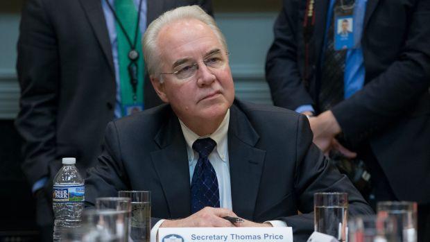 U.S. Secretary of Health and Human Services Tom Price.