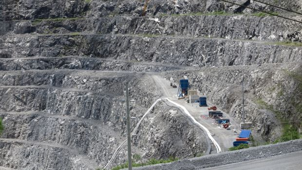 OceanaGold's open pit gold and copper mine in Didipio.