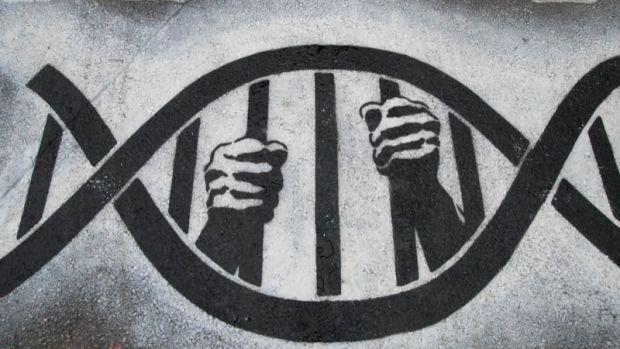 DNA behind bars