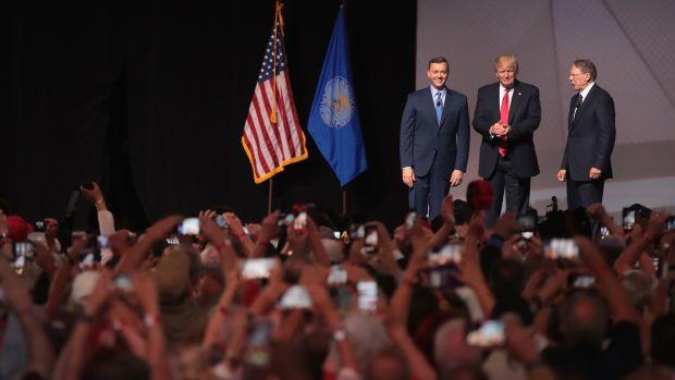 President Trump in Atlanta, Georgia.