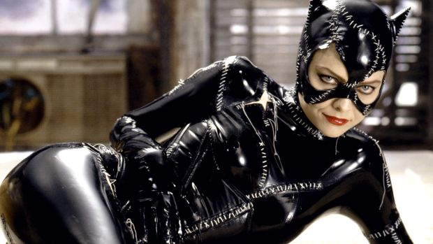 Michelle Pfeiffer as Catwoman in Tim Burton's 1992 film Batman Returns.