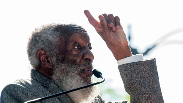 Dick Gregory's eldest son was born without a first or middle name. This way, the comedian and civil rights icon reasoned, the Vietnam War draft would never come his way.