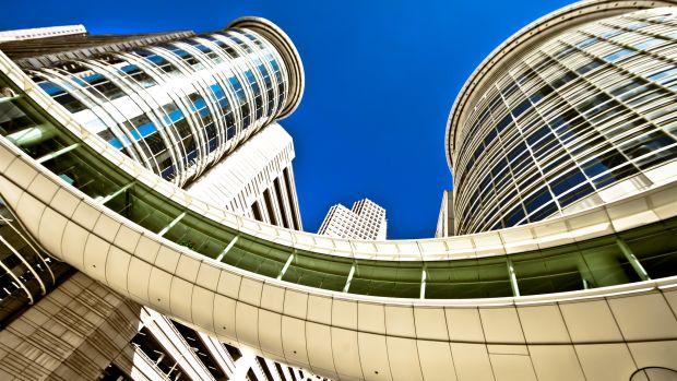 Enron building.