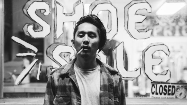 Gook star, writer, and director Justin Chon.