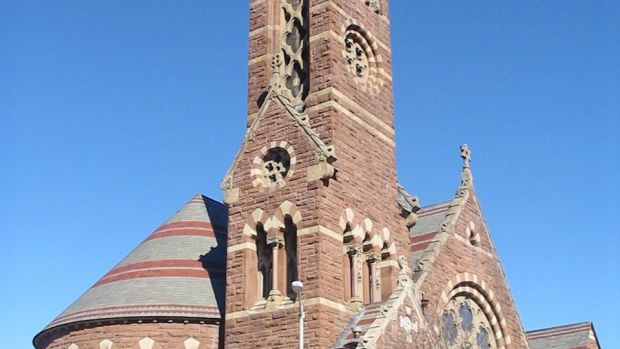 The South Congregational Church in Springfield, Massachusetts.