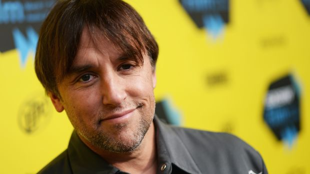 Director Richard Linklater arrives at the premiere of Boyhood at the 2014 SXSW Music, Film + Interactive Festival at the Paramount Theatre on March 9th, 2014, in Austin, Texas.