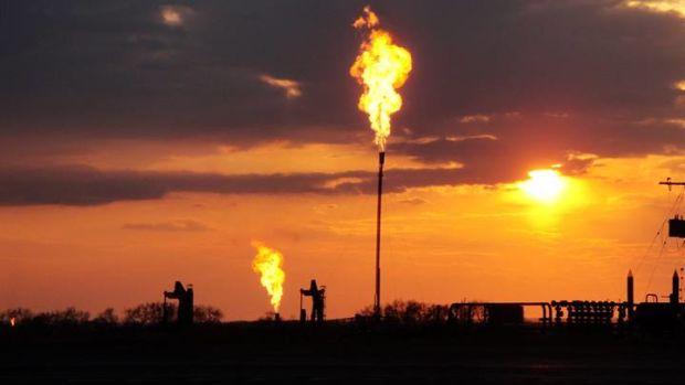 Methane emissions.