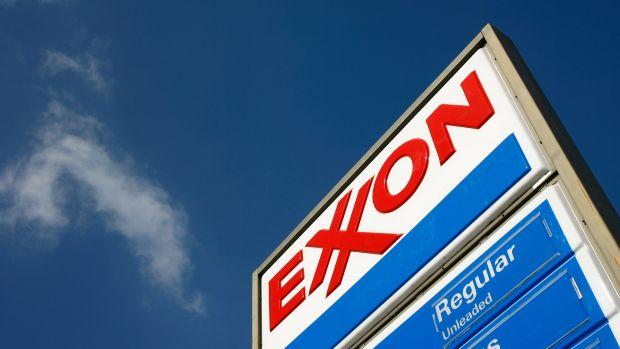 n Exxon gas station in Burbank, California.