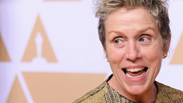 Frances McDormand Oscars inclusion rider