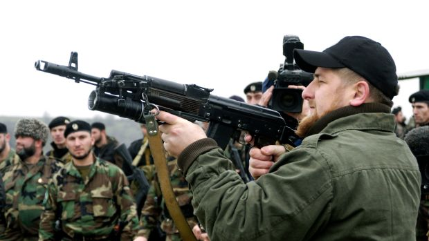 Head of the Chechen Republic Ramzan Akhmadovich Kadyrov.