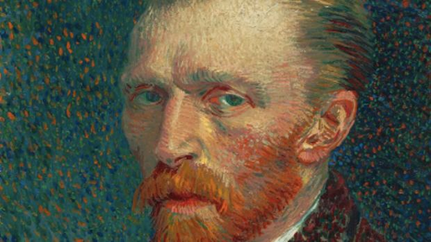 Vincent van Gogh's self-portrait.