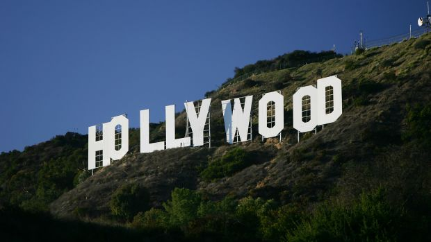The Hollywood Sign is seen on November 16th, 2005, in Los Angeles, California.