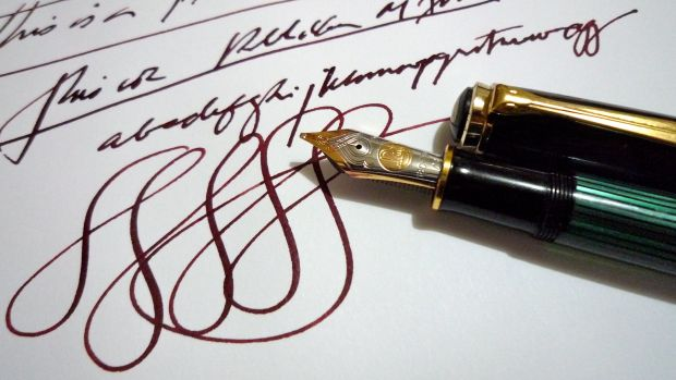 writing and calligraphy