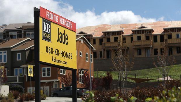 New housing development in Petaluma, California.