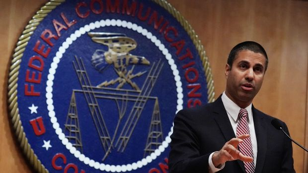 Federal Communications Commission Chairman Ajit Pai repeal net neutrality