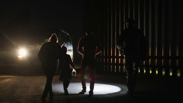 The Trump administration is reportedly considering detaining parents separately from their children.