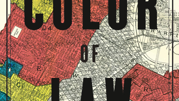 The Color of Law: A Forgotten History of How Our Government Segregated America.