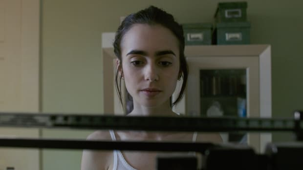Lily Collins in Netflix's To the Bone.