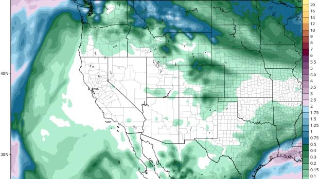 rain map during california wildires