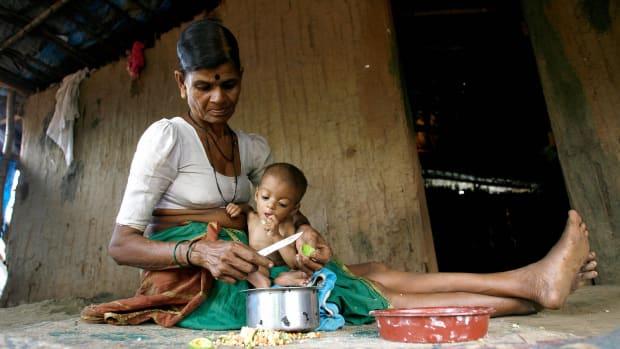 Sex in multi generational tribal huts