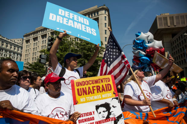 Trump's Immigration Plan Doesn't Address DACA. What's Going to Happen to Dreamers?