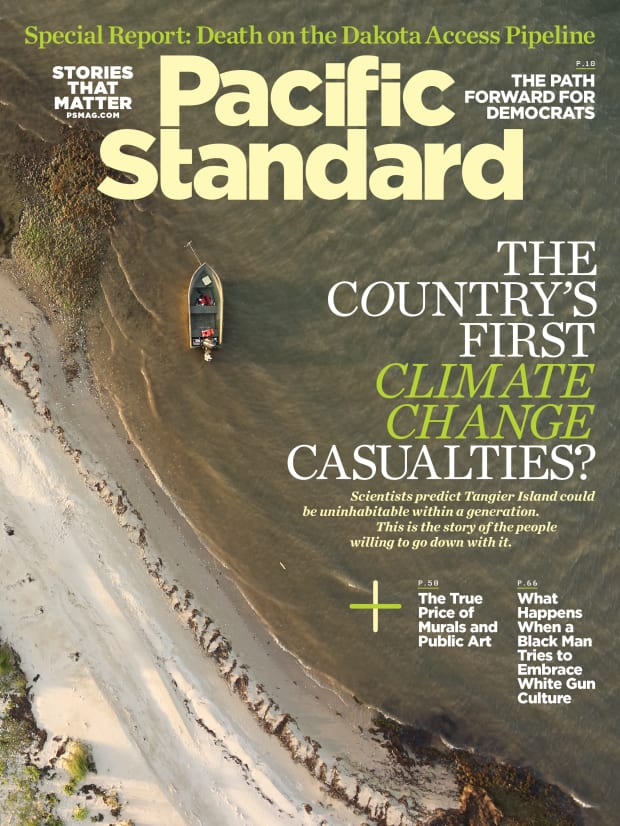 The Country's First Climate Change Casualties?