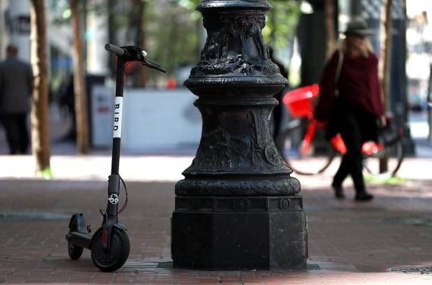 Could Banning Bird Scooters Leave Behind a City's Most Economically Vulnerable Citizens?